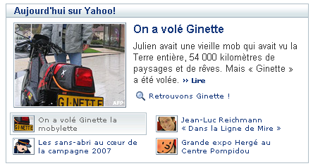 on a vole ginette